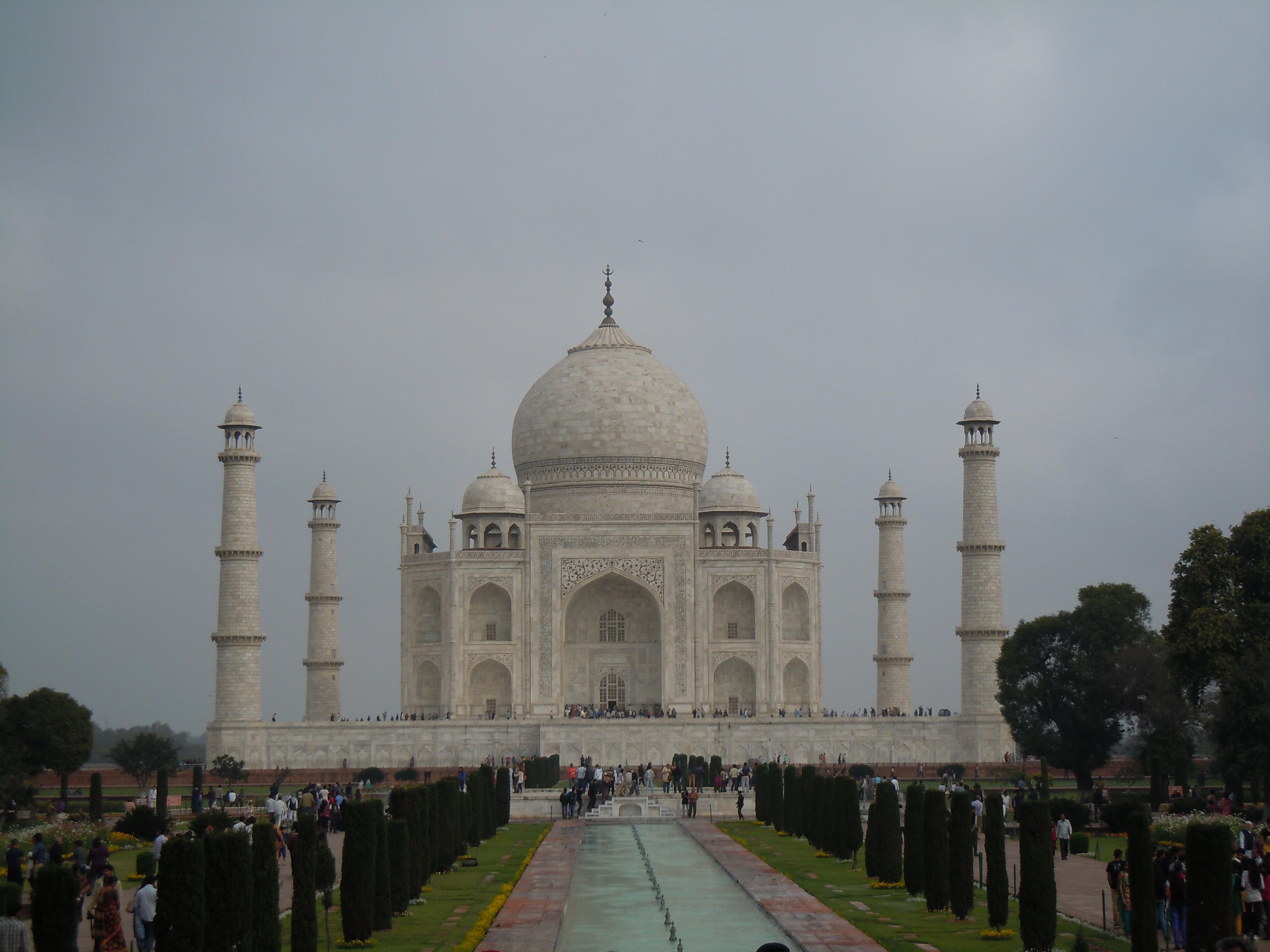 Majestätisch: Der Taj Mahal